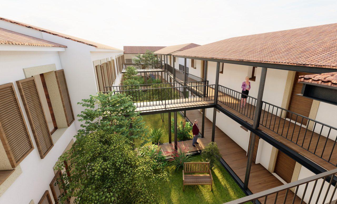 aiguebonne plan architecture 3d