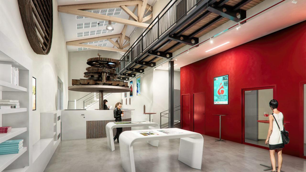 matelles intérieur architecture 3d