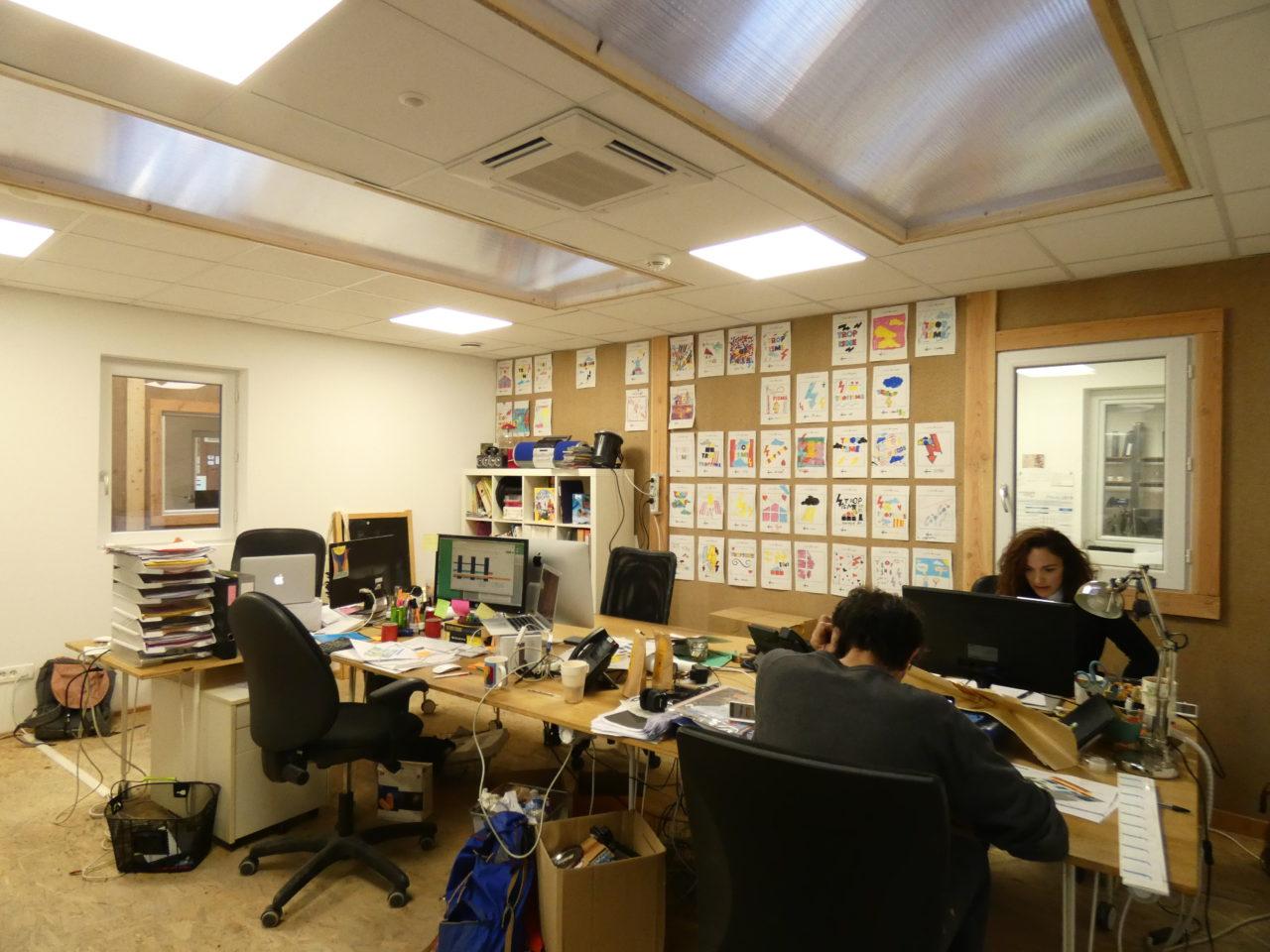 intérieur bureaux tropisme
